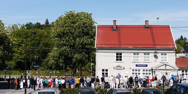 Ombygging av Blommenholm stasjon