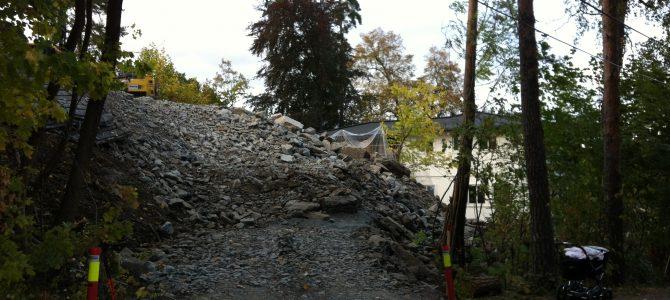 Byggesaker som berører vernesonen