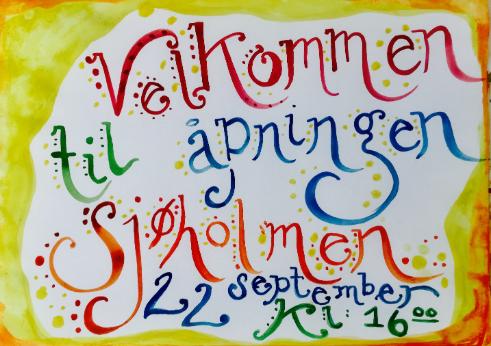 Kom til Sjøholmen 22. september
